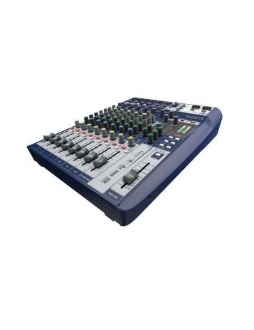 "CONSOLE DE MIXAGE SIGNATURE10 ""SOUNDCRAFT"" 10 VOIES"