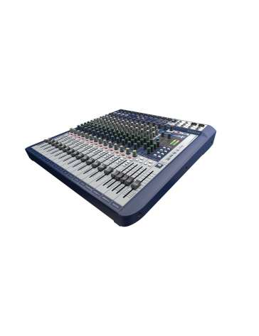 "CONSOLE DE MIXAGE SIGNATURE16 ""SOUNDCRAFT"" 16 VOIES"