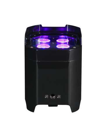"PROJECTEUR A LED SUR BATTERIE IP 4X10W RGBAW+UV ELEMENT HEXIP ""AMERICAN DJ"" WIFLY DMX"