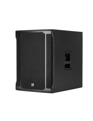 "CAISSON BASS AMPLIFIE SUB905ASII ""RCF"" D.38CM 1100W RMS"
