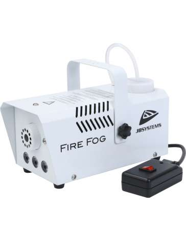 "MACHINE A FUMEE FIRE FOG ""JB SYSTEMS"" 400W AVEC LED 3X3W AMBRE"