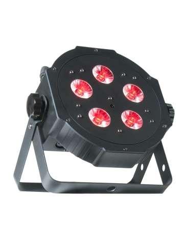 "MEGATRIPARPLUS PROJECTEUR A LED ""ADJ"" 5 x 4W RGBUV"