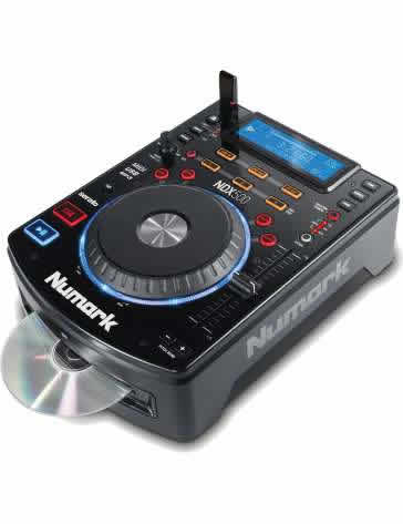 "LECTEUR CD A PLAT NDX500 ""NUMARK"" MIDI / MP3 / USB RACK 19"""
