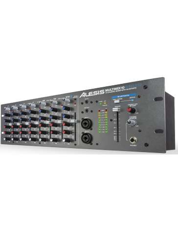 "MIXEUR DE STUDIO MM10WL ""ALESIS"" 10 VOIES RACK 19"""