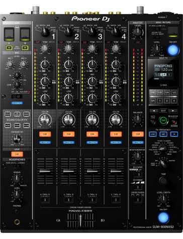 table de mixage pioneer djm 900nxs2 4 voies. Black Bedroom Furniture Sets. Home Design Ideas