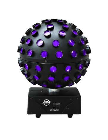 "SPHERE A LED ROTATIVE STARBURST 5 X 15W ""AMERICAN DJ"" DMX RGBWYP"