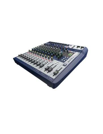 "CONSOLE DE MIXAGE SIGNATURE12 ""SOUNDCRAFT"" 12 VOIES"