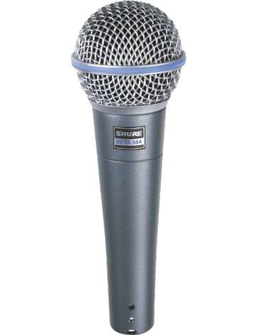 MICRO DE CHANT BETA58A SHURE DYNAMIQUE SUPERCARIOIDE