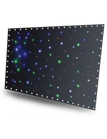 RIDEAU A LED 3 X 2M BEAMZ 96 LEDS RGBW + CONTROLEUR DMX