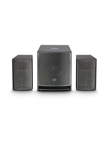 """SYSTEME SONO COMPACT ACTIF LDDAVE12G3 LD SYSTEMS 12"""" 500W RMS"""