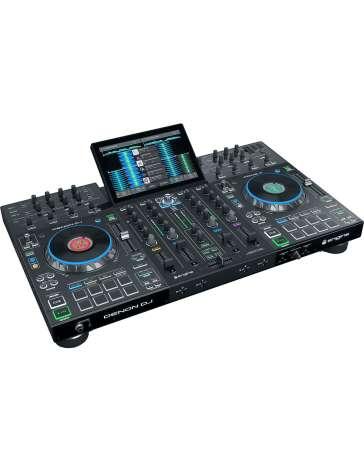 SYSTEME DJ AUTONOME TOUT EN UN PRIME4 DENON 4 VOIES AVEC ECRAN