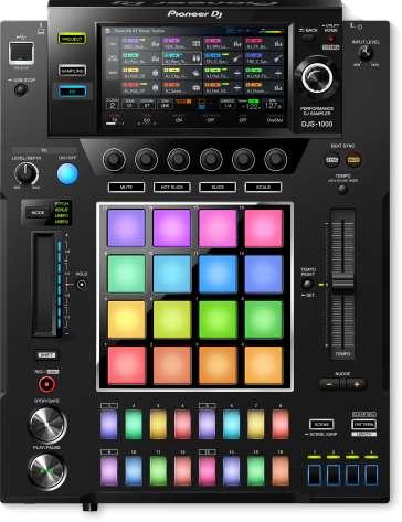 SAMPLER DJ DJS-1000 PIONEER 16 PISTES