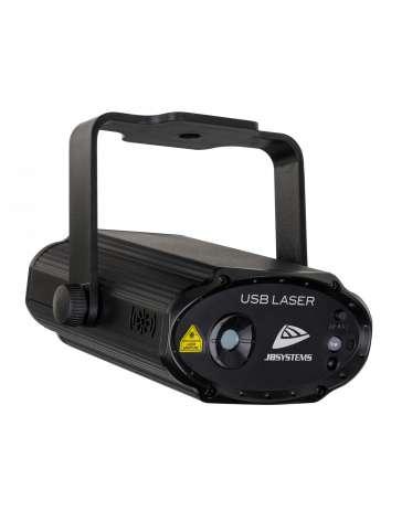 LASER POLYVALENT USB-LASER JB SYSTEMS VERT ET ROUGE