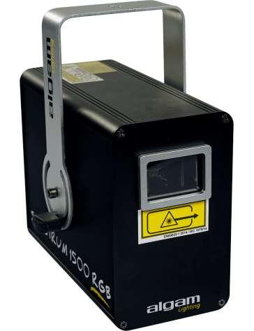 LASER D'ANIMTATION SPECTRUM1500RGB ALGAM LIGHTING 1500MW DMX