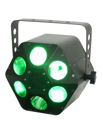 "EFFET FLOWER A LED QUADPHASE HP ""ADJ"" 32W DMX"