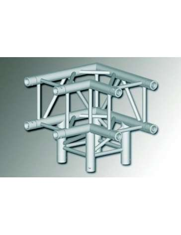 "ANGLE STRUCTURE CARRE ALU QUATROA40805 ""MOBIL TRUSS"" 290MM"